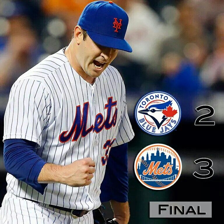 The Mets sweep the Blue Jays at home. Now to Toronto to finish the home and home series!