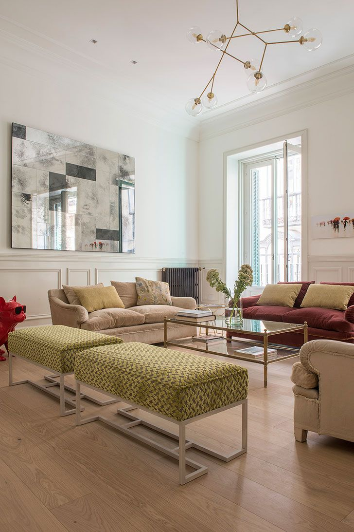 apartment design online. Spring Colors In A Modern Apartment Madrid | Interiors Online, Decor Interior Design And Warm Online