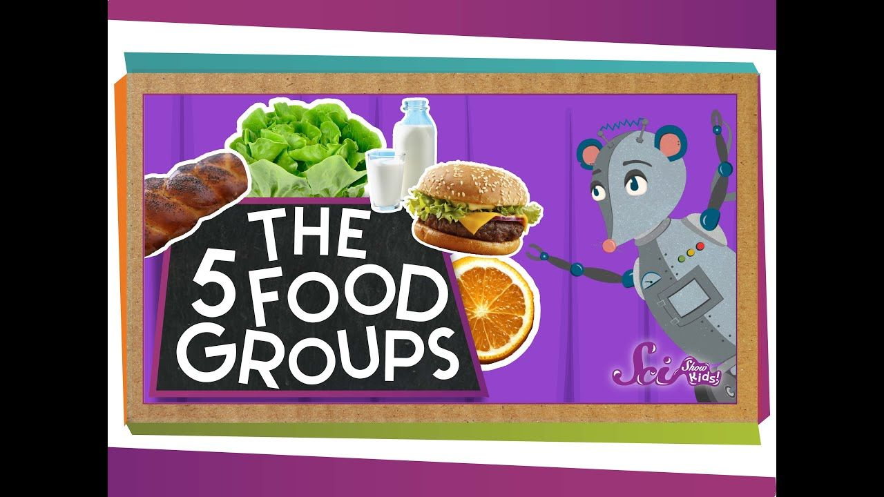 The 5 Fabulous Food Groups Group meals, Food groups