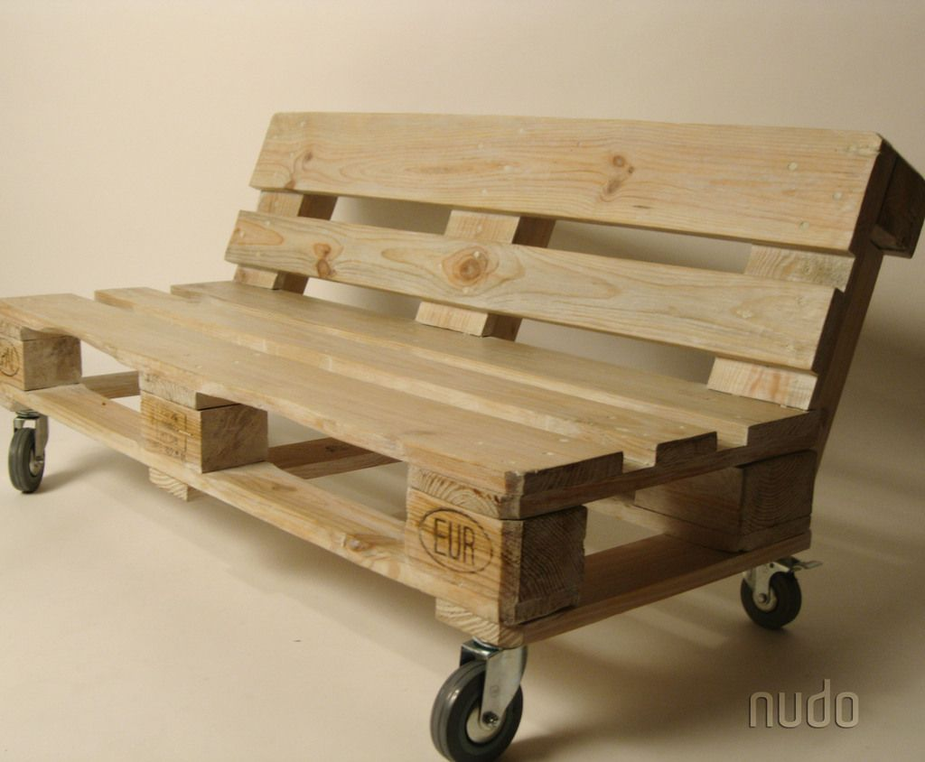 Banco de pallets muebles pinterest pallets pallet for Sofa de palets exterior