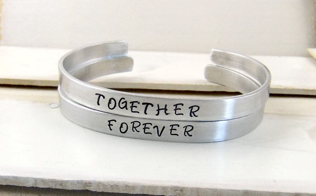 Couple Magnet Care Bracelets Trend Magnet Stainless Steel
