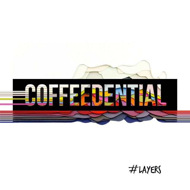 COFFEEDENTIAL | #Layers new Theme #coffeedential #coffee #blog #inspiration Inspired by #maudvantours #art #paper