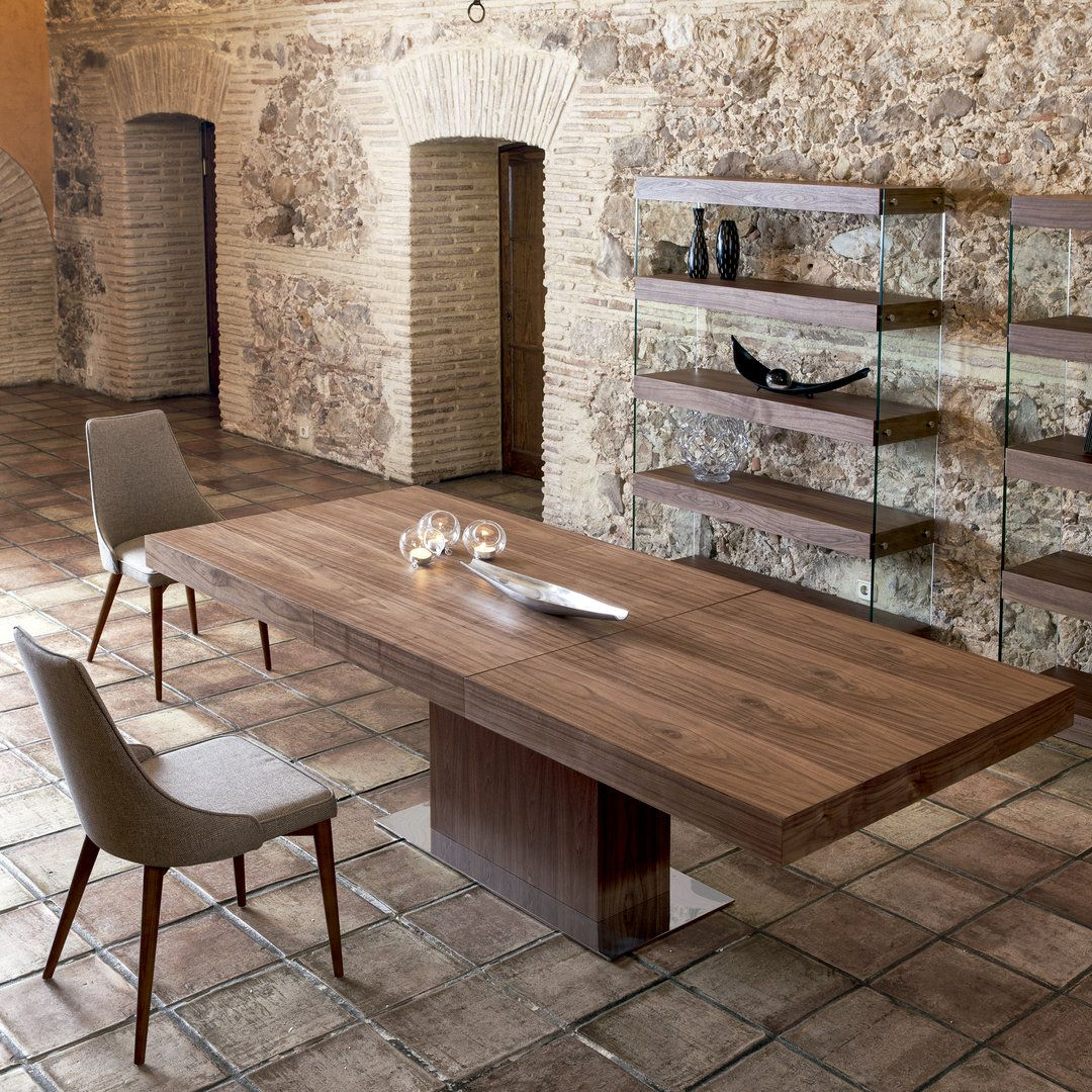Mesa de comedor moderna verona muebles for Comedores rusticos modernos