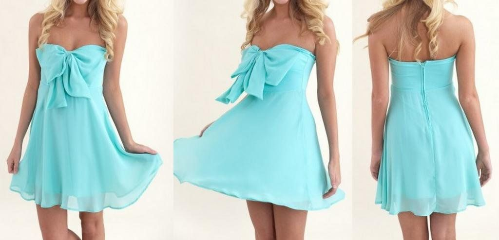 Demure Bow Tie Dress