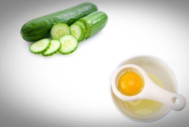 Cucumber and Egg yolk mask- ile ilgili görsel sonucu