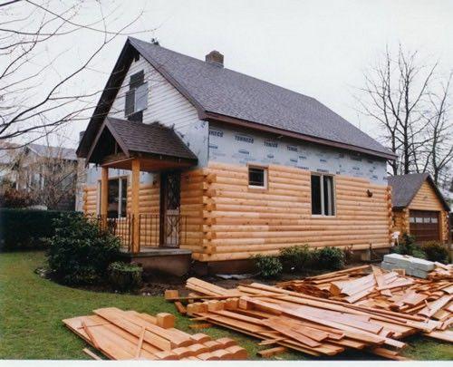 Image Result For Wood Look Vinyl Siding Log Cabin Siding Log