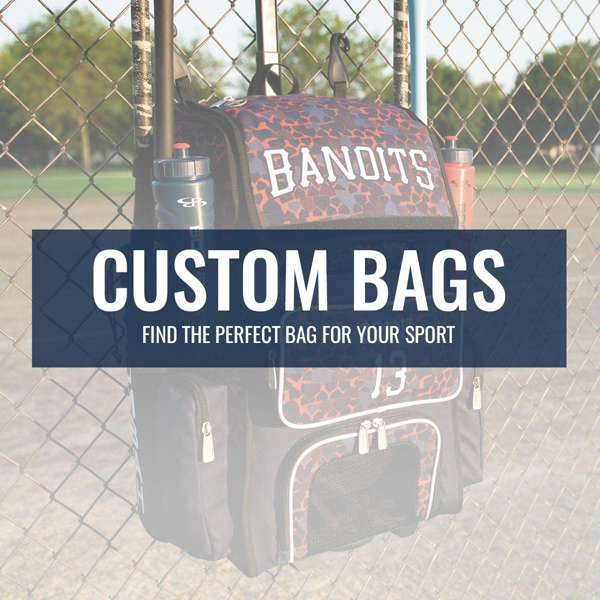 Find The Perfect Custom Bag For Your Sport Boombah Boombahgear Batbag Batpack Softball Slo Custom Bags Usa Baseball Volleyball Gear