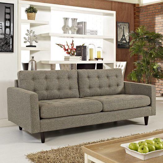Modway Empress Sofa AllModern Sofas Pinterest Living rooms