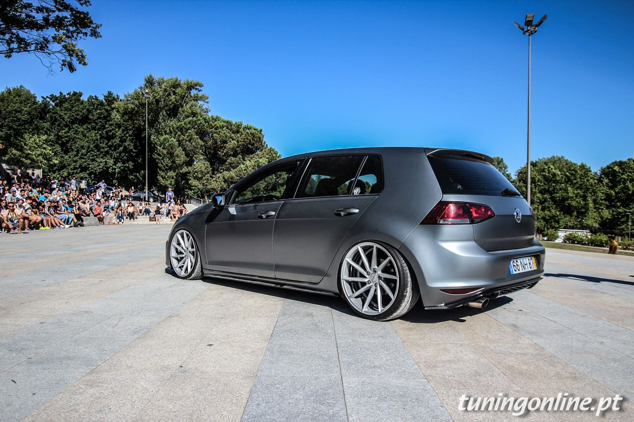 vw golf vii vossen vw tuning mag pinterest vw golf and volkswagen. Black Bedroom Furniture Sets. Home Design Ideas