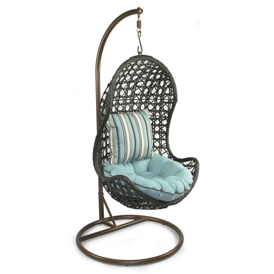 Hanging Chairs For Bedroom Is Made Of A Round Seat That Has Enough Cushions In The