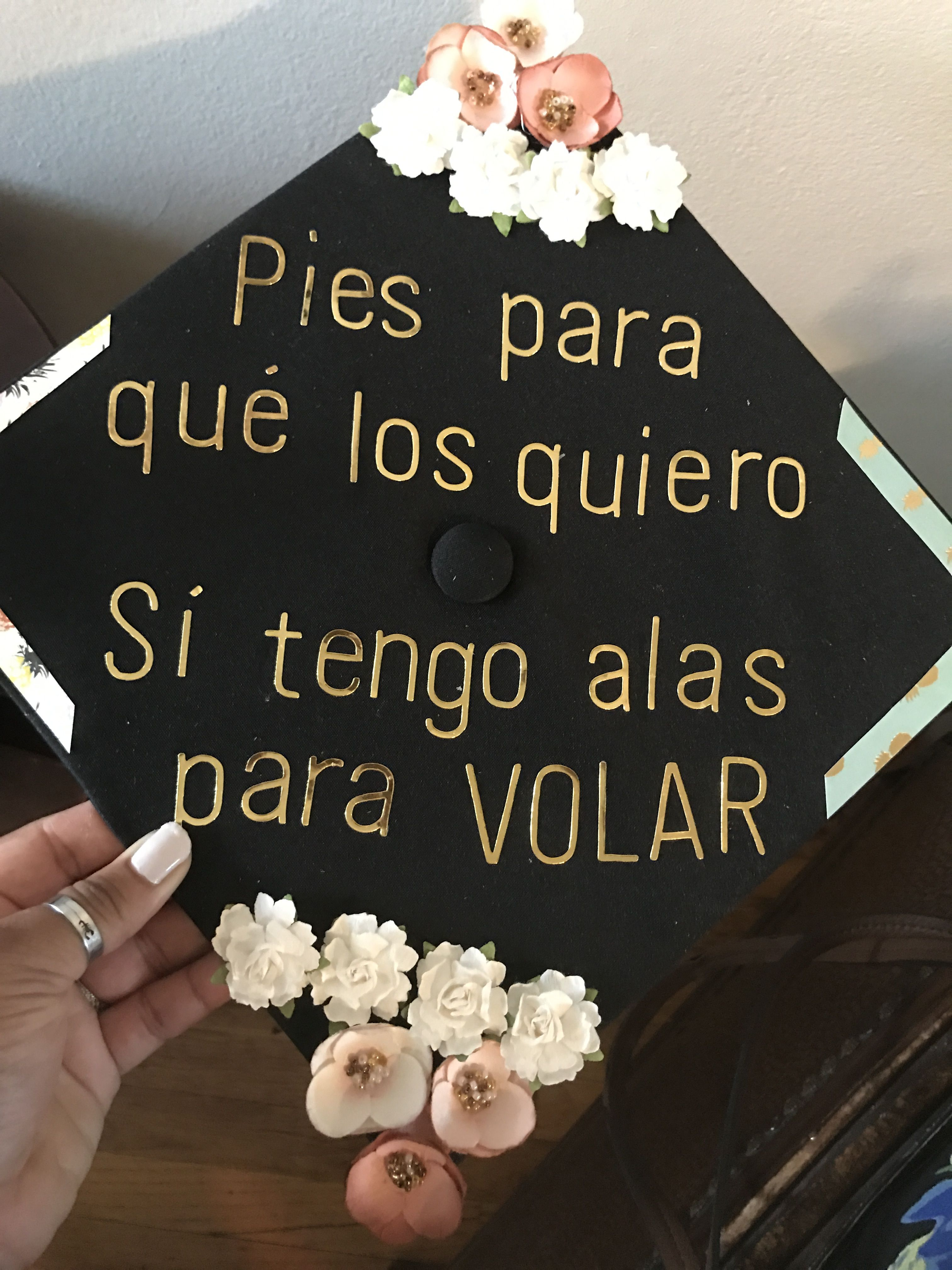 Spanish graduation caps #latina #fridakahlo #2017 | 2017 goals