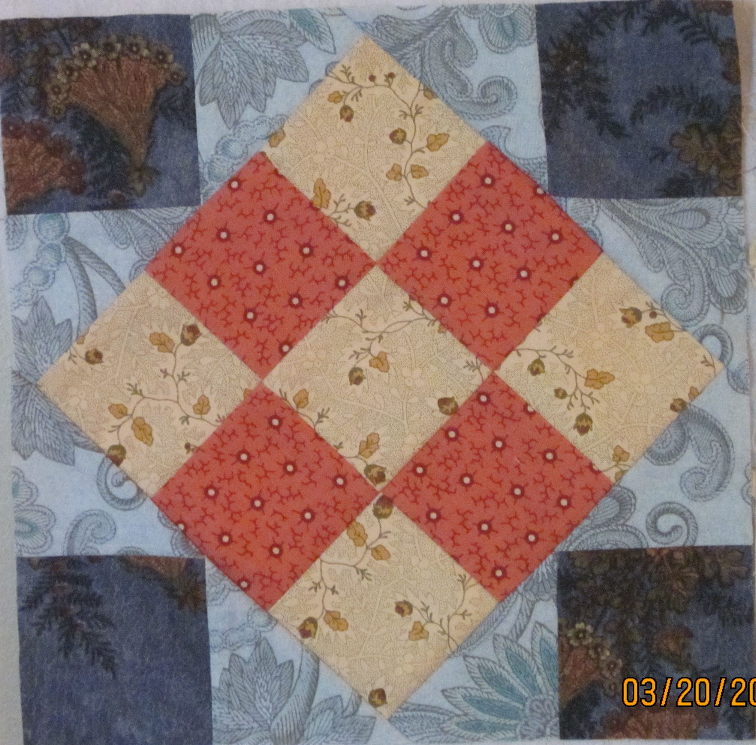 Ferrell Checkered Area Rug: Civil War Quilt Blocks 2012