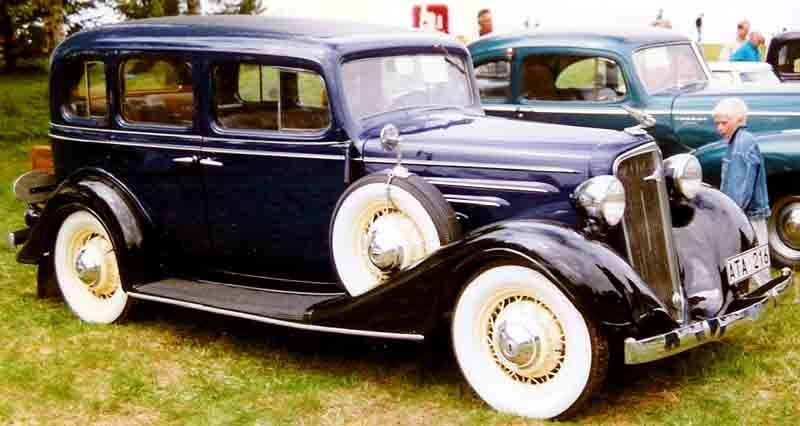 1934 Chevrolet Master Series DA Special Sedan | 1931 to 1940 CARZ