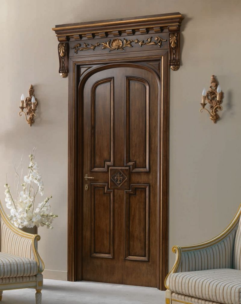 Hermitage 6016 Tqr Int Main Door Design Door Design Wood Door Design