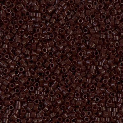 Delica 11/0 Miyuki Beads Opaque Chocolate  by ButtonsBeadsandBling