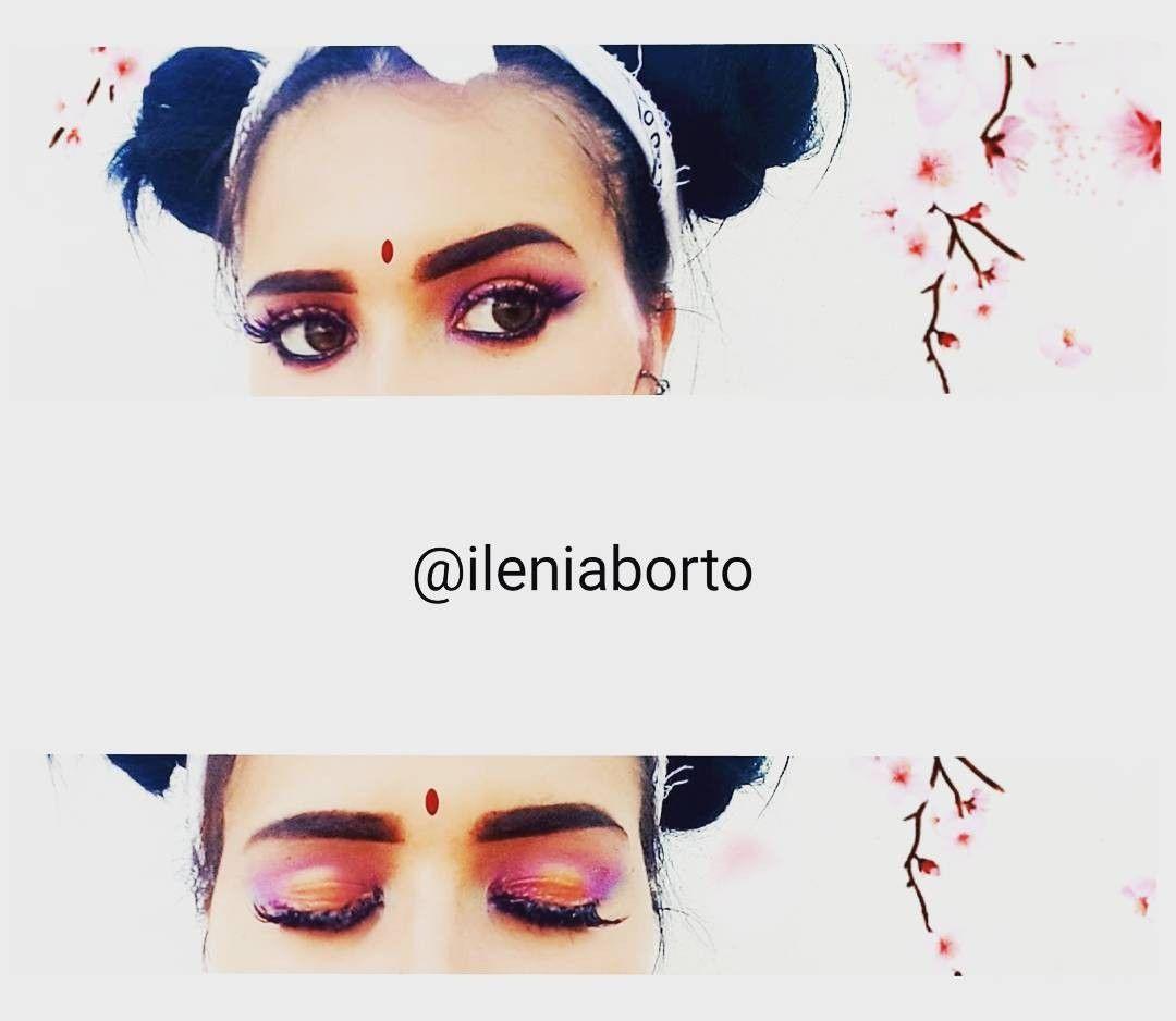 Makeup by ileniaborto on instagram