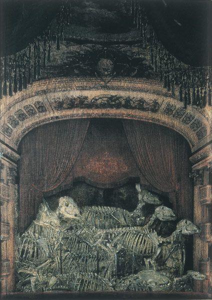 v3l3nomortale:  Francesco Balsamo- Commediola (2005) Inchiostro e matita su carta - 28 x 20cm