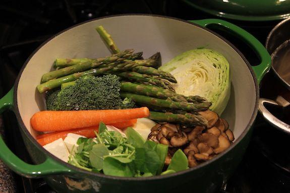 Veggie Hot Pot