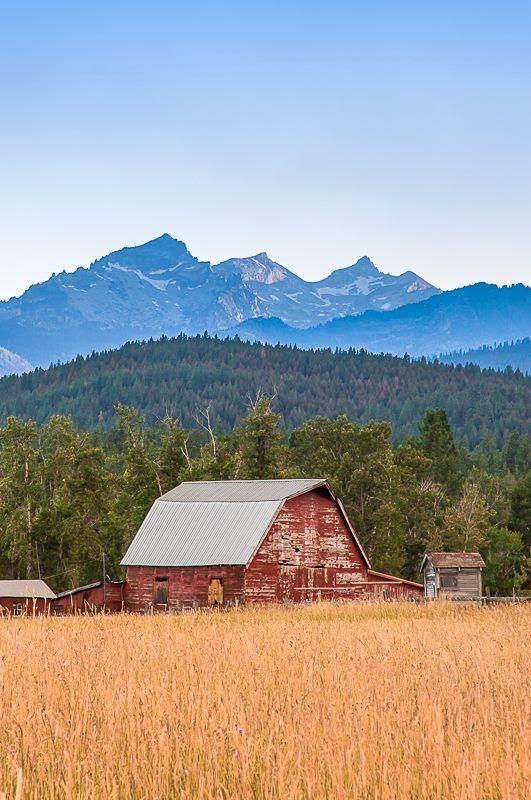 Lost Horse Creek Barn Hamilton Montana Barns Farms