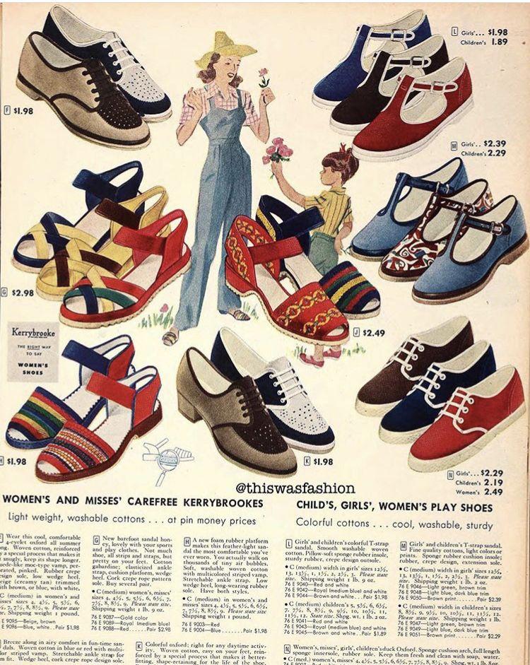 1949 Sears Shoes Ad Sears Shoes Vintage Shoes Shoes Ads