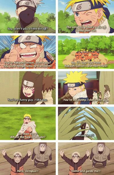 Naruto, different ages, time lapse, funny, quotes, Kakashi