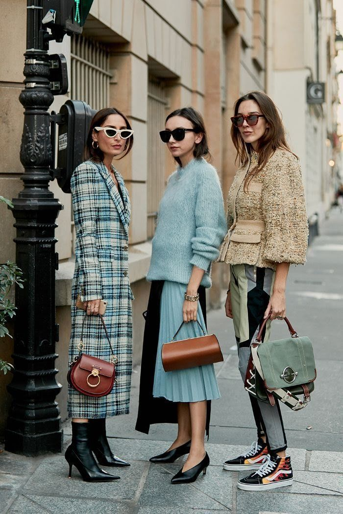 Der neueste Street Style von der Paris Fashion Week #latestfashionforwomen