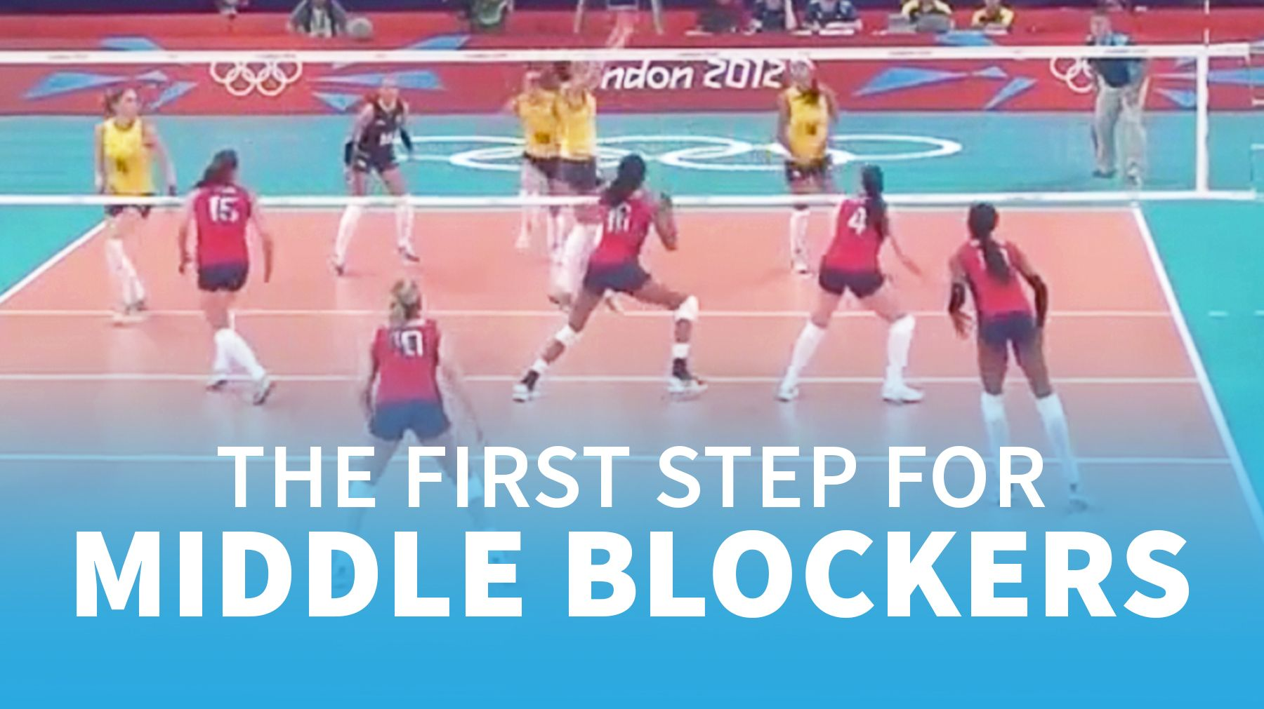 Jim Stone The Crucial First Step For Middle Blockers Skills Coaching Volleyball Volleyball Coaching