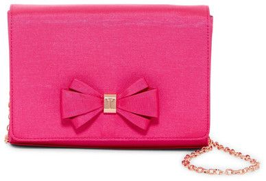 f58958f7bd9 Ted Baker Graciee Grosgrain Front Bow Clutch