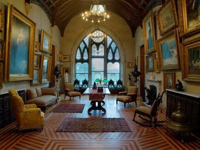 Lyndhurst, Tarrytown, New York; Alexander Jackson Davis, architect, 1838 & 1864-1865.