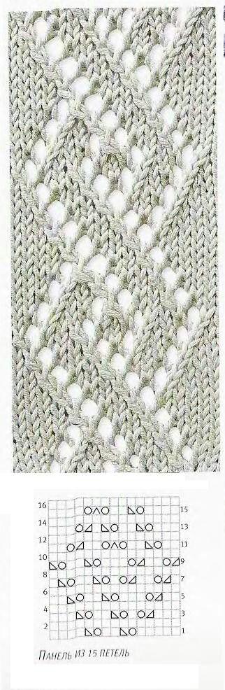 knitting lace   Tricot   Pinterest   Dos agujas, Puntadas y Tejido