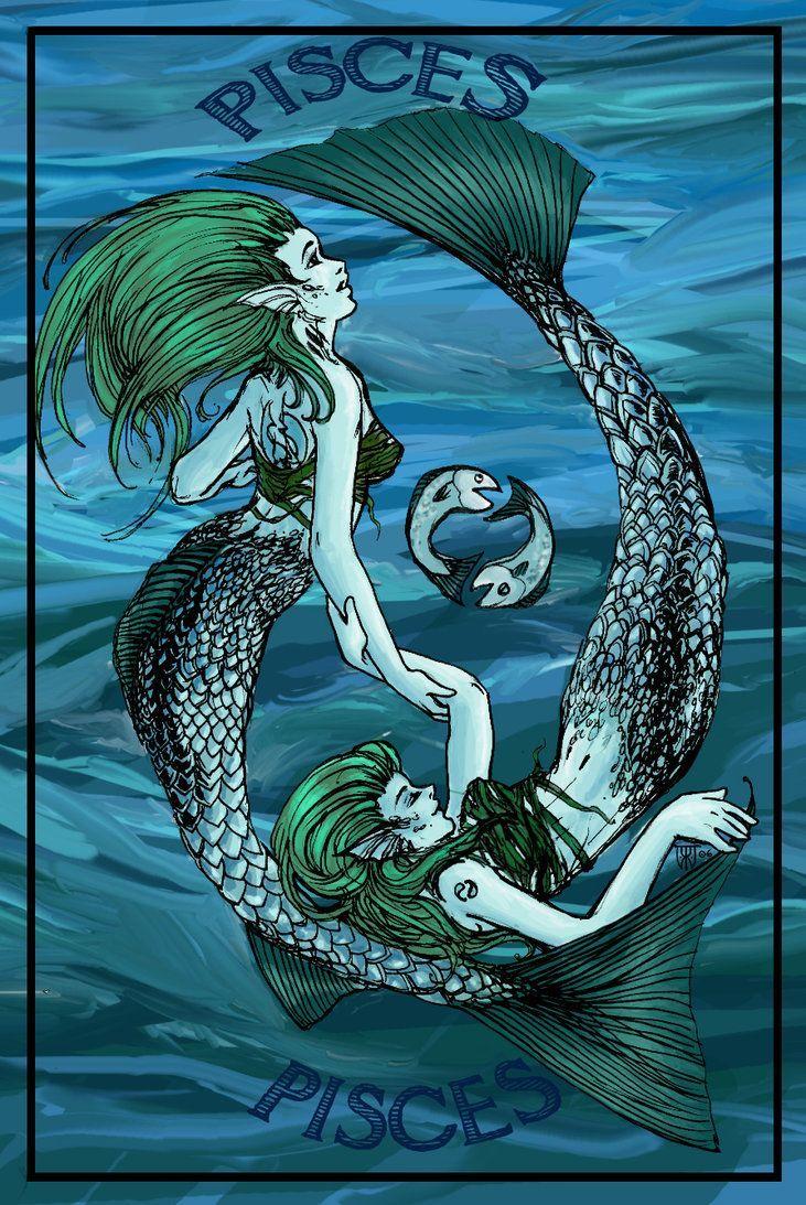 mermaid pisces | visit deviantart com