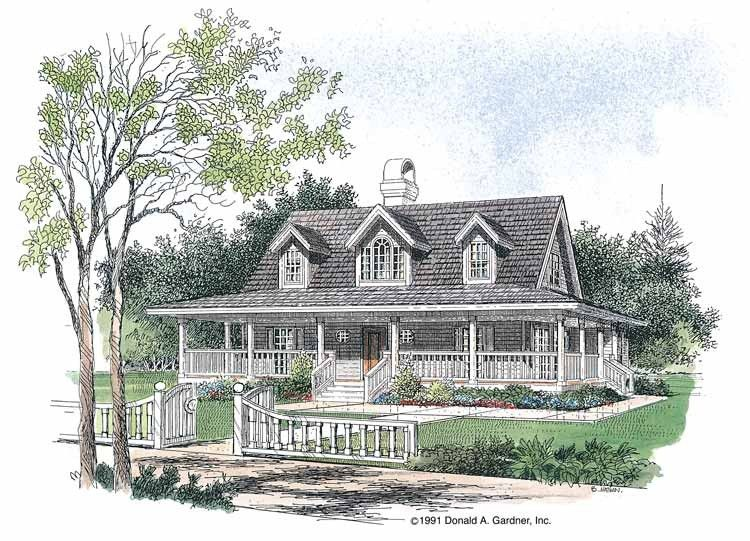 Farmhouse Style House Plan 3 Beds 2 5 Baths 1778 Sq Ft Plan 929 77 Low Country Homes Lowcountry House Plans Country House Design