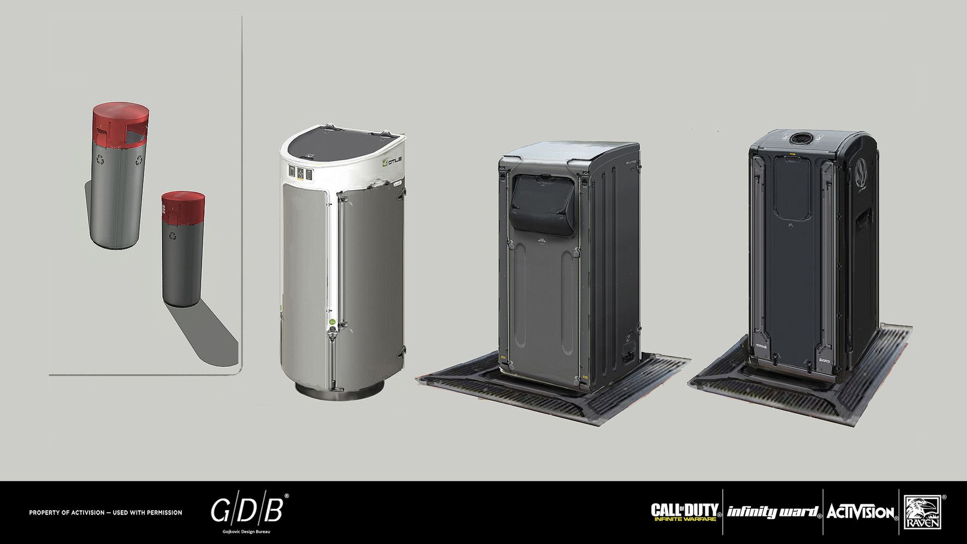 Artstation g d b cod infinite warfare gojkovic design