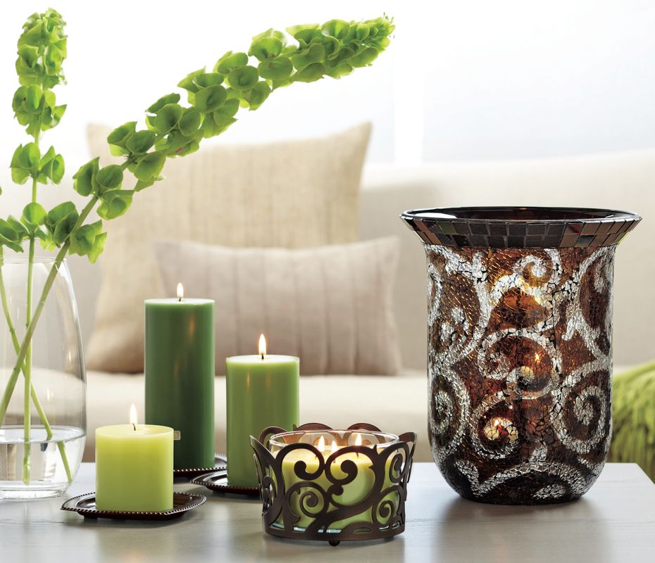 Home Decor Ideas With Candles: Give Your Candles A Swirl! #PartyLite
