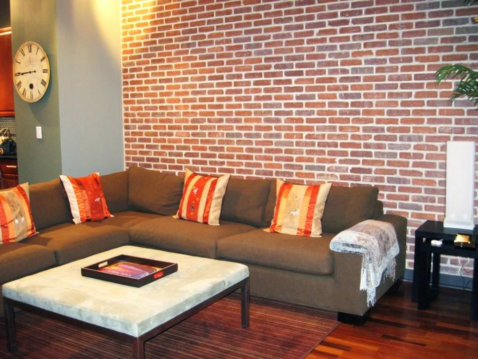 There Is Something About Brick Walls That I Really Like. Living Rooms With  White Brick Walls