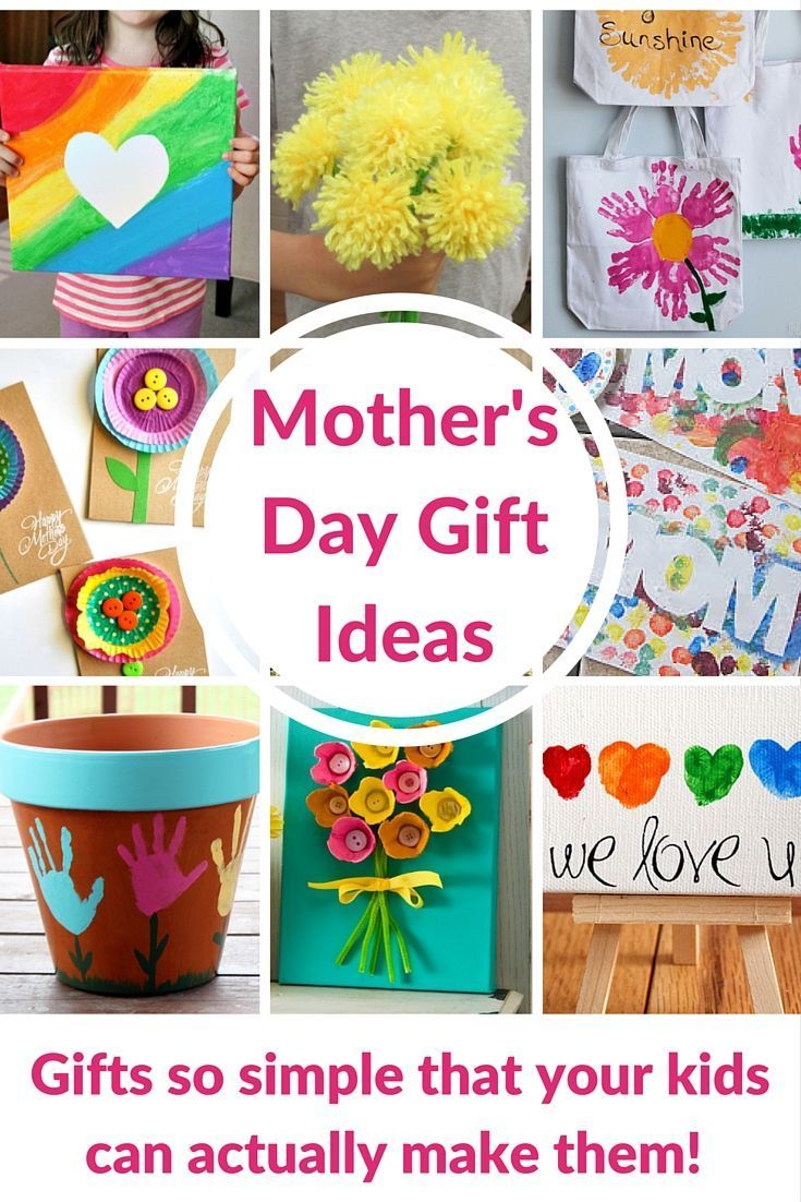 Amazing Craft Gift Ideas For Kids Part - 14: Motheru0027s Day Gift Ideas For Kids - These Are DIY Crafts That Your Kids Can  Actually