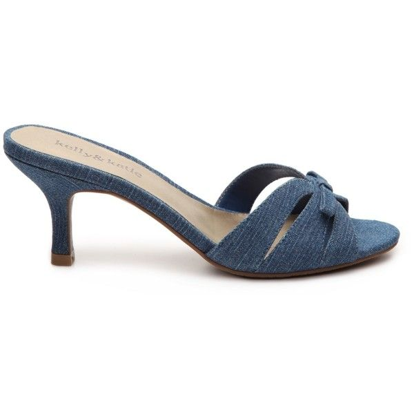 b458c7d9a66 Kelly katie libby denim sandal aud liked on polyvore jpg 600x600 Dsw kelly  and katie