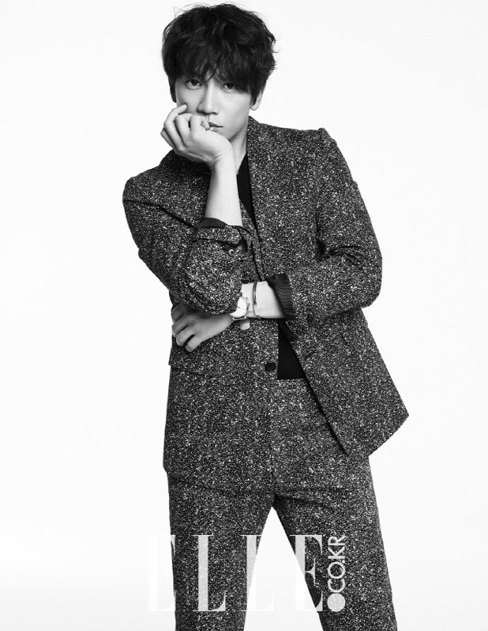 Ji Sung Through The May Pages Of Elle Korea