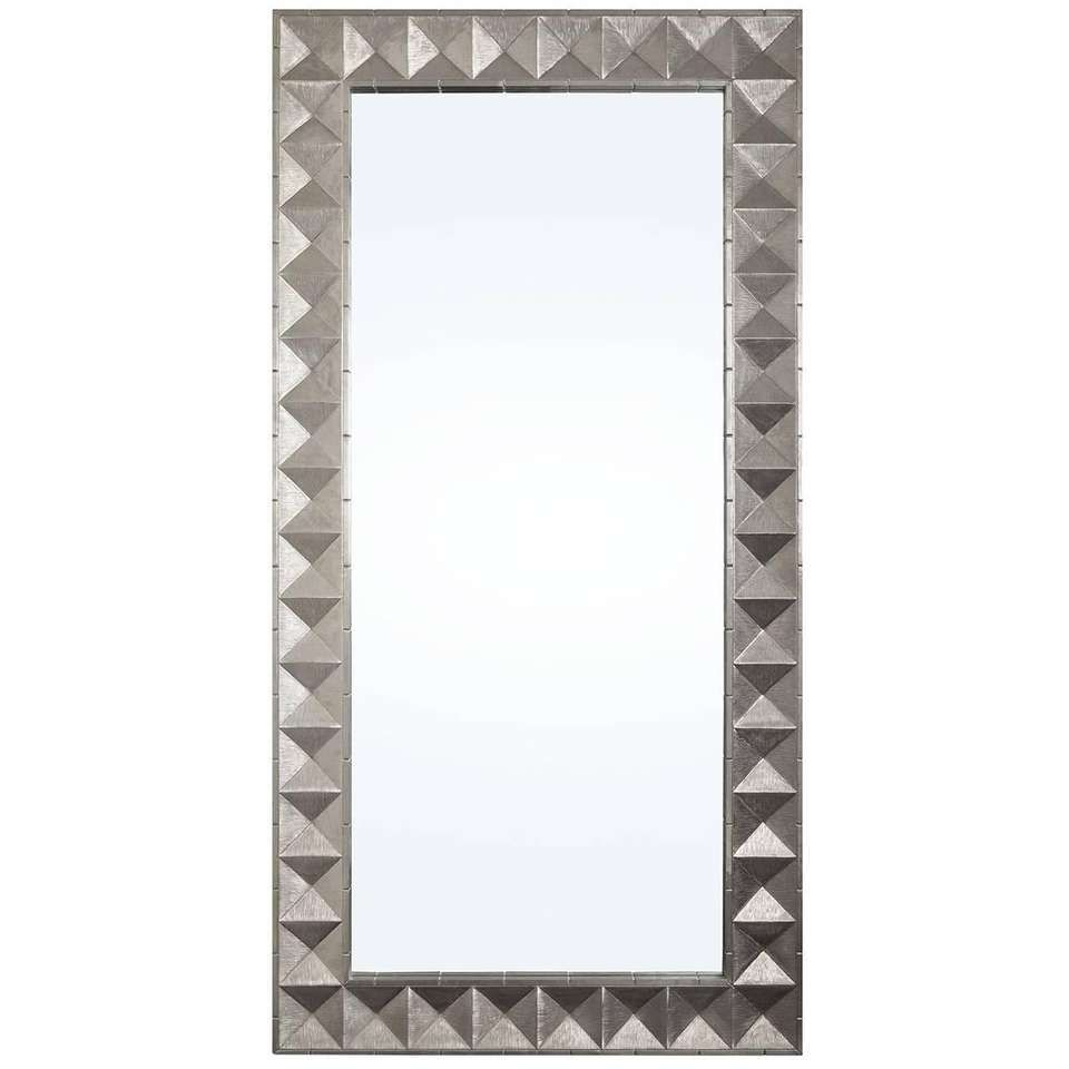 Talitha Nickel Floor Mirror For Sale