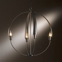 Hubbardton Forge 10-4203-07 Cirque Four Light Round Chandelier