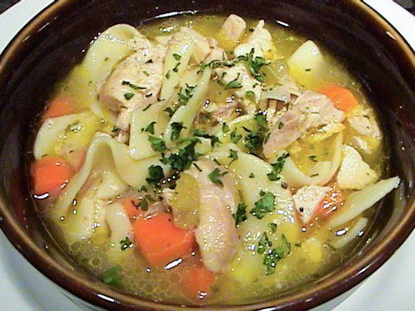 Top secret recipes hard rock cafe homemade chicken noodle for Best homemade chicken noodle soup recipe