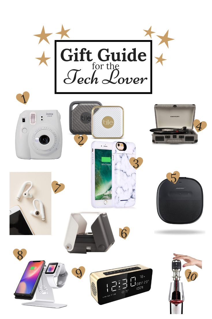 Gift Guide For The Tech Lover Always Meliss Gift Guide Tech Tech Gifts For Men Personalized Gifts For Dad