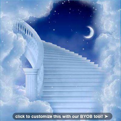 Stairway to Heaven (Blue tones)