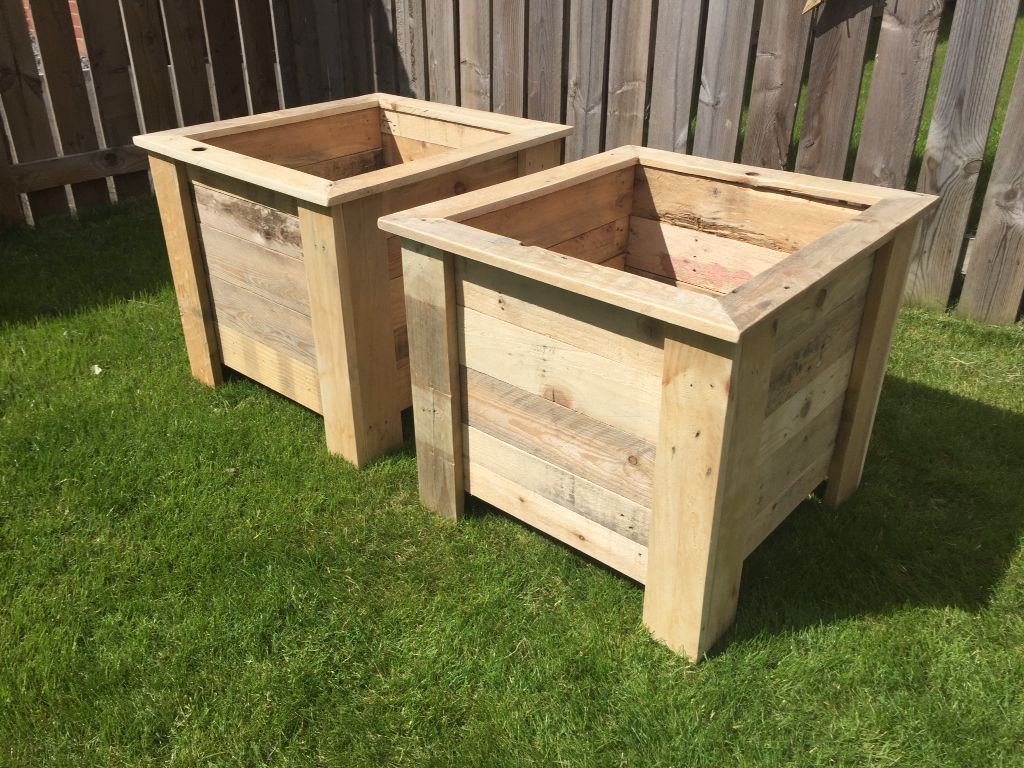 Planters Approximate Dimensions 500x500x500mm Commissioned For A Customer