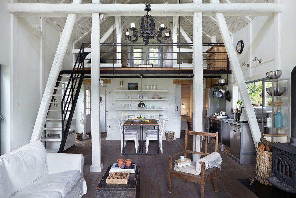 Современный загородный дом в Польше Красивые интерьеры и дизайн - landhaus modern