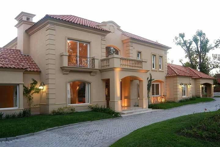 Casa neoclasica en buenos aires casas clasicas classic houses pinterest house home and - Casas clasicas ...