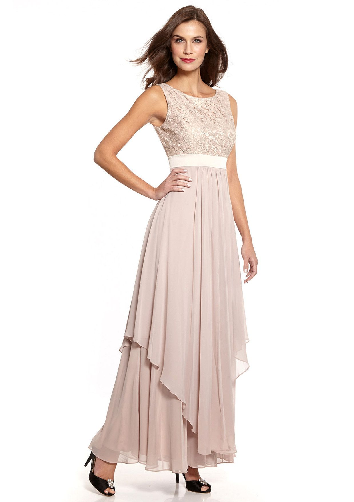 ideeli | ELIZA J Lace Bodice and Chiffon Dress $109.99 | My Style ...
