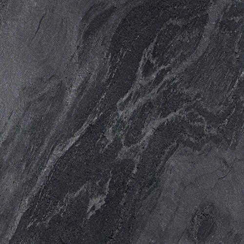 Bathroom B floor tiling option: Honed slate tiles metallic in colour - Silver/Black/Grey slate tiles £34.50