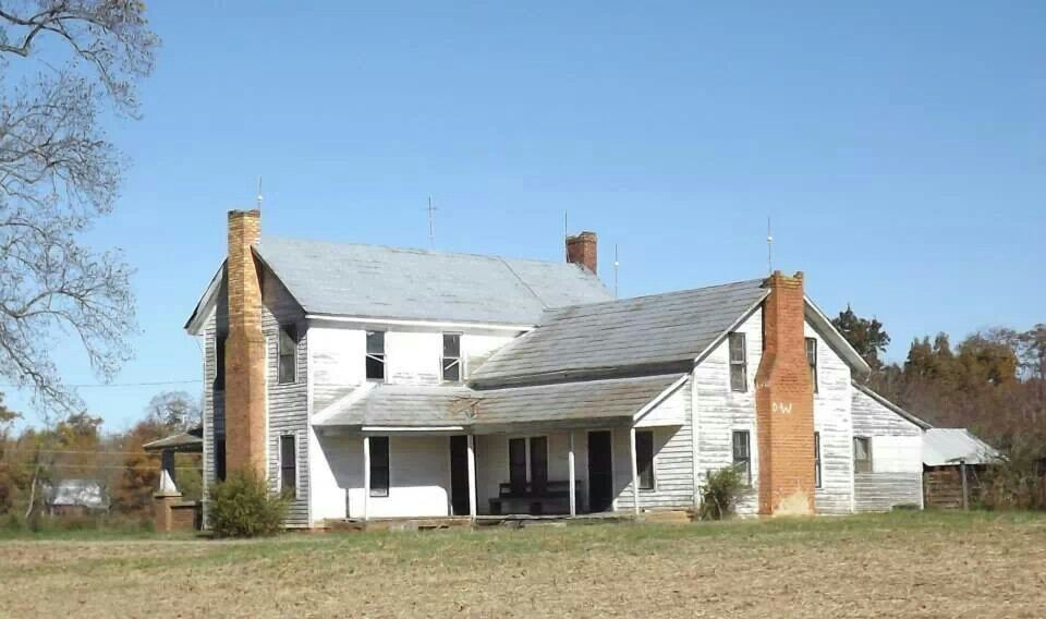 Big old farm house  I could fix it  With a little help