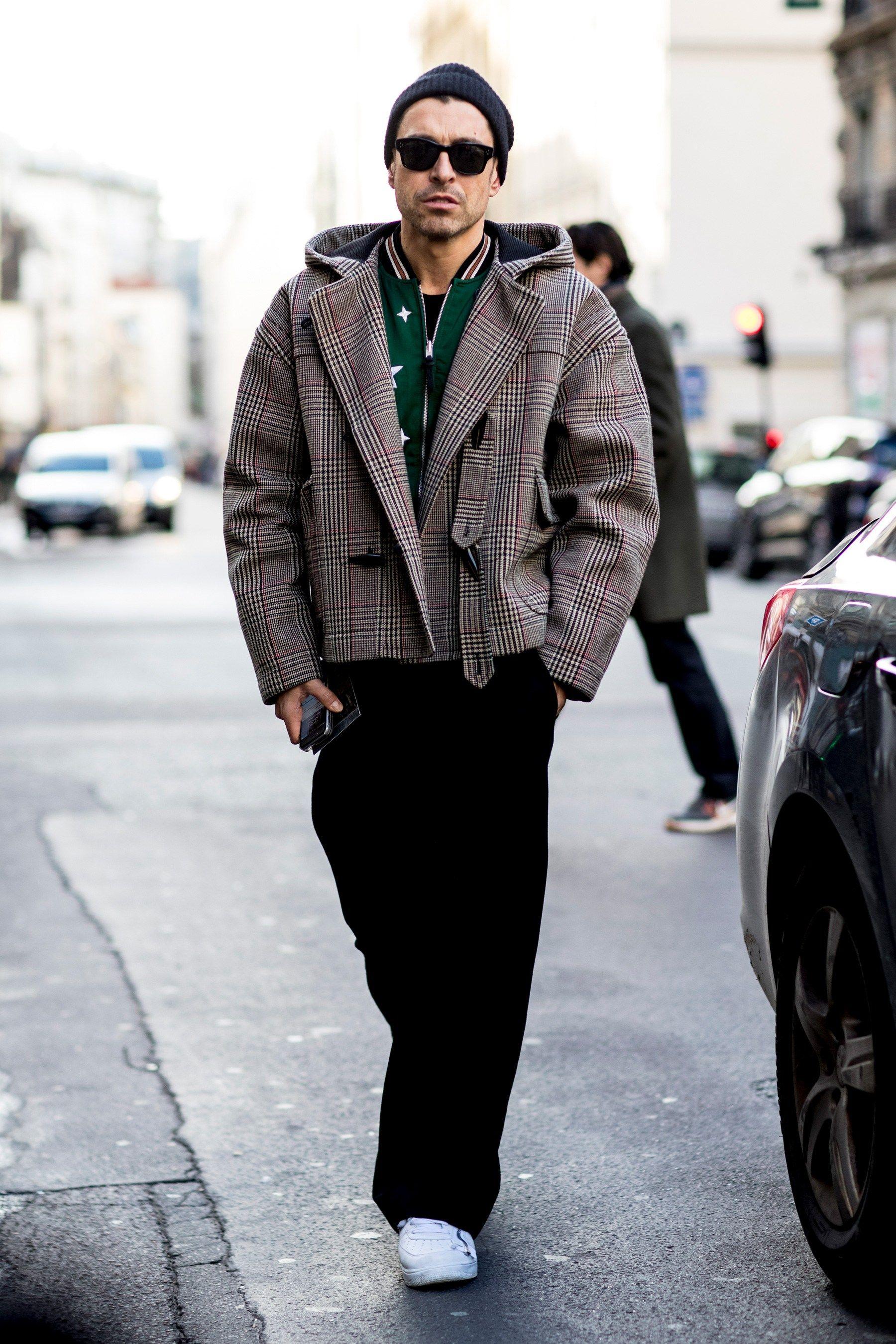 Paris Fashion Week Men's Stree...